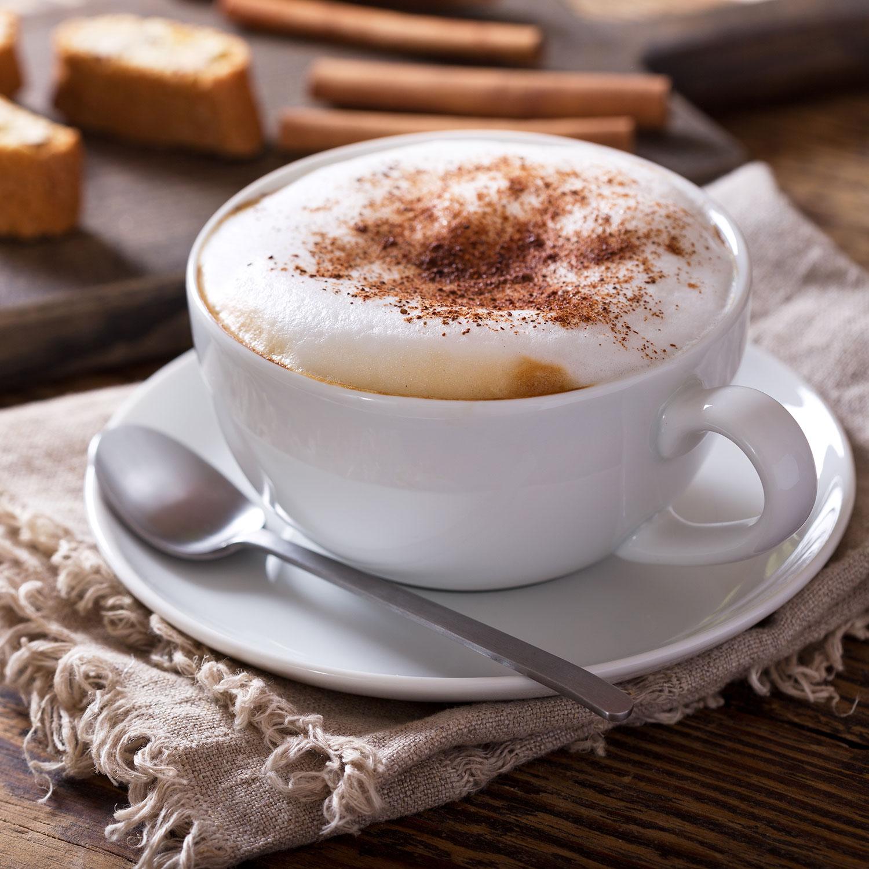 Kaffee-Tasse, Cappucchino